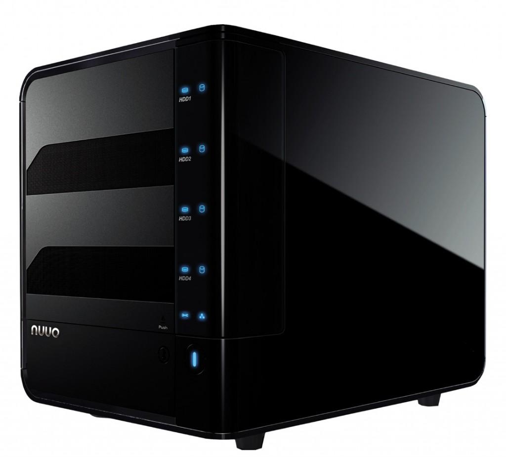 NUUO NV-4080S NAS-based NVR 8ch, 4bay