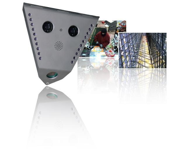 Mobotix MX-V12D-Sec-D22D43 Indoor Mega, vandal, 2 lenses